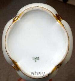 1870's Antique HAVILAND LIMOGES Porcelain HAND PAINTED Coffee Tea CHOCOLATE POT