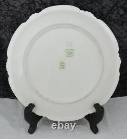 (7) Antique Coronet Limoges Hand-painted Porcelain Fish Plates