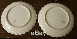 8 Aesthetic Haviland Limoges Plates Hand Painted Enamel Butterfly Meadow Visitor