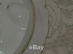 Antique Limoges Turkey Oyster Plate 1800's Hand Painted #1