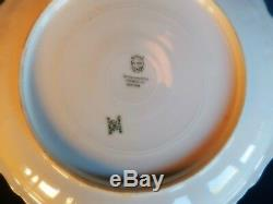 CMC Limoges Set of 6 Hand Painted FISH Plates 9 1/8Wide
