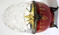 Faberge Limoges STERLING SILVER 925 HANDPAINTED IMPERIAL FABERGE EGG