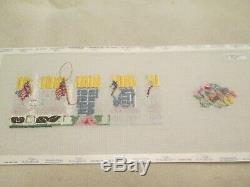 Grand Hotel Limoge Box-julia-handpainted Needlepoint Canvas-threads-stitch Guide