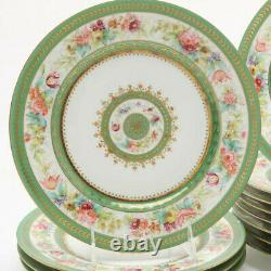 Hand painted plates limoges Charles Ahrenfeldt Antique France