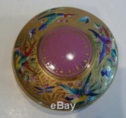 LE TALLEC PARIS Handpainted Limoges France Porcelain Dresser Vanity Set