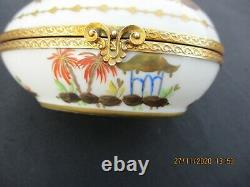 Le Tallec Paris Cirque Chinois Chinese Circus Egg Box Bronze Mounts Hand Painted