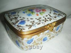 Le Tallec Paris Porcelain Hand Painted Box