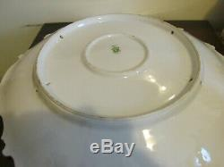 Limoges Coronet France Handpainted Charger Plate Fruit Signed Duval 16