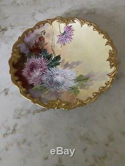 Limoges Handpainted Plate