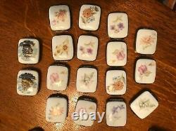 Limoges Petit Main Trinket Box LOT of 103, retired exclusives, early 90s
