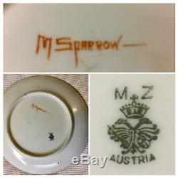 MUSHROOM! HAND PAINTED PORCELAIN LOVELY COLLECTION of LIMOGES, MZ AUSTRIA