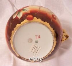 Vintage 1905 Hand Painted W. Pickard Porcelain Vase Signed J. Goess T&V Limoges
