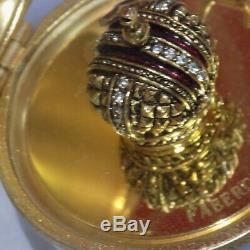 Vintage Faberge Limited Edition Limoges Hand Painted Porcelain Egg NO 10043