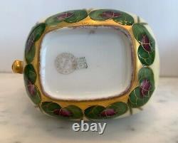 Vintage Limoges France Pickard T&v Hand Painted Signed Cream & Sugar Set