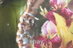 4 Vintage Lrl Limoge Plaques De Poisson Peintes À La Main Artiste Signé