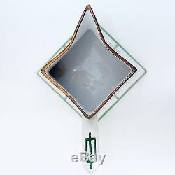 5 Pichet En Porcelaine, Vert, Or France Limoges, Peint À La Main Signé Maud Myers