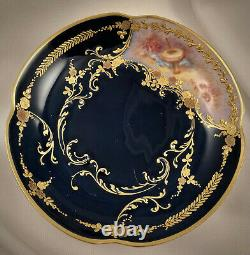 Ancien Limoges Demitasse Cup & Saucer, Cupidon