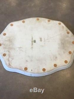 Antiquité Limoges Bavière Autriche 14 Pièces Dresser Vanité Peinte À La Main Signée