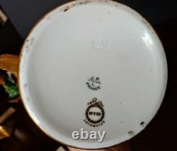 Français Porcelaine Dorée Unique Rare Mug 1899 Par Jean Pouyat, Limoge+