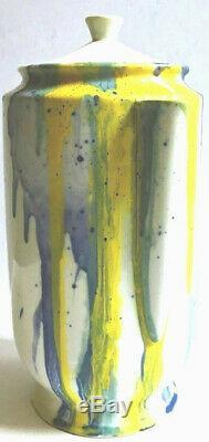 Helen Frankenthaler Pichet Peint À La Main Pour Le Musée Whitney Signé Et Numéroté