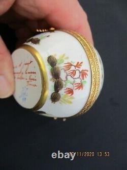 Le Tallec Paris Cirque Chinois Circus Egg Box Bronze Mounts Peint À La Main