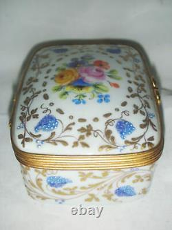 Le Tallec Paris Porcelaine Boîte Peinte À La Main