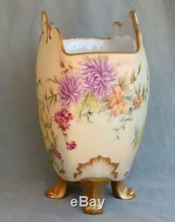Limoges D & Co Main Porte Lettre Peint Vase Delinieres & Co