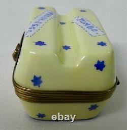Limoges France Box Eximity Egg Carton Box Jumbo Eggs Frais Peint Main