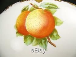 Limoges France Oranges De Floride Peintes À La Main Greenleaf Blossoms 14.25 Bol À Punch