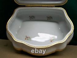 Porcelaine Impériale Limoges Boite À Bijoux