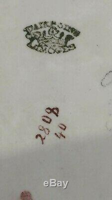 Rare! Pairpoint Limoge Palmer Cox Brownie Main Plateau Victorienne En Porcelaine Peinte