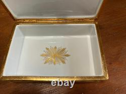 Tiffany & Co. Private Stock Limoges Hand Peint Small Jewelry Box Directoire